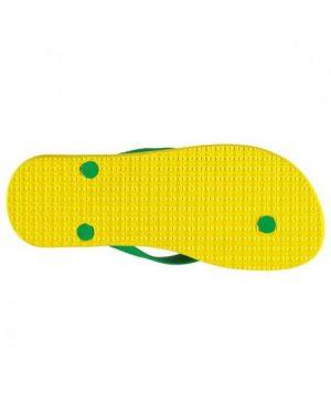 Мъжки чехли Adidas Neo Flip Flop Green/Yellow