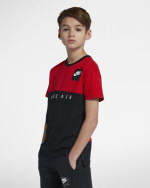 Детска тениска NIKE AIR TOP SS UNIVERSITY